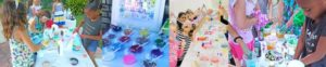 Slime party in San Bernardino and Riverside County, California