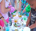 Slime party in Riverside County and San Bernardino, California