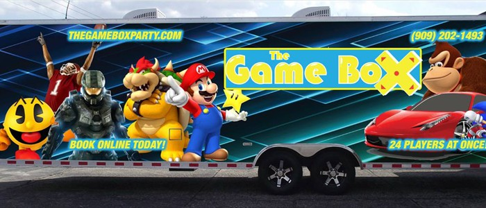 The Game Box Mobile Video Game Theater...